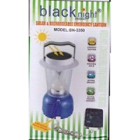 solar & rechargeable emergency lantern with powerbank