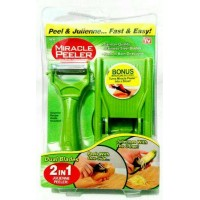 Miracle peeler 2 in 1