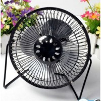High velocity fan mini desk fan
