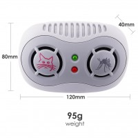 Super Ultrasonic Mouse & Mosquito Repeller (AR166B)