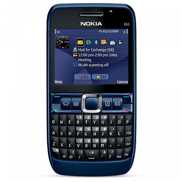 Nokia E63 Blue Nokia E63
