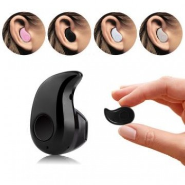 Mini Wireless Bluetooth Headset - Black