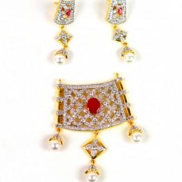 AD Jewellery Set P-99